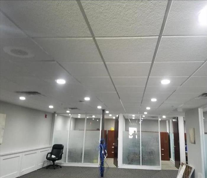 Commercial Water Damage – Oakland Offices After