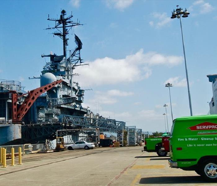 Cleanup Day at the USS HORNET