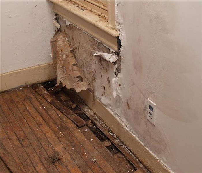Water Damage Possible  Permanent Water Damage to an Oakland Property If Not Properly Treated
