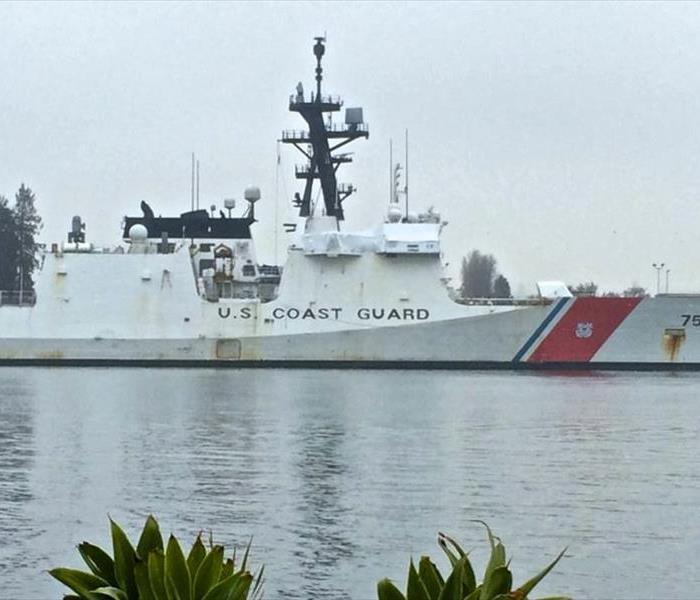 Commercial  Alameda Coast Guard Island Cleaning and Mold Remediation