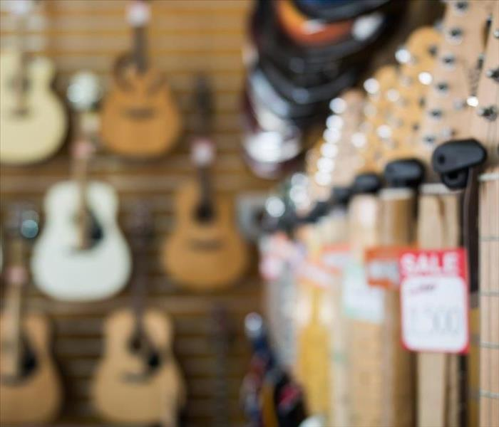 Commercial Working Quickly to Restore Water Damage to Your Oakland Music Store