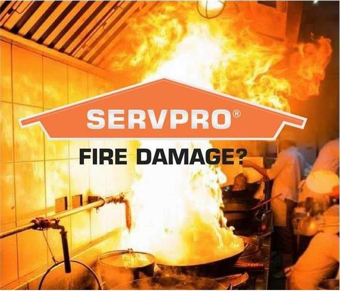 """SERVPRO fire damage"""