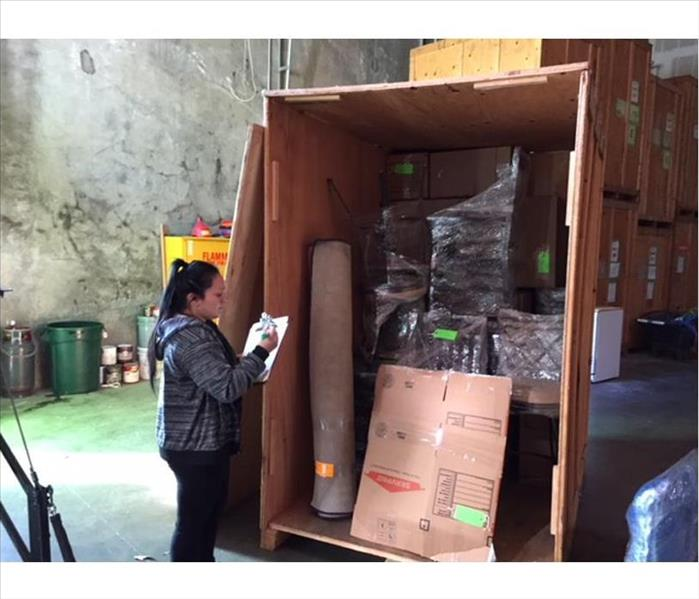 employee listing contents loaded onto boxtruck